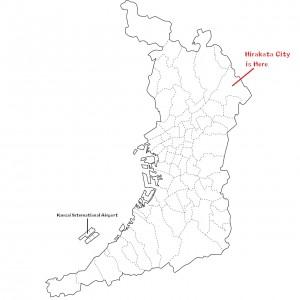Hirakata Map